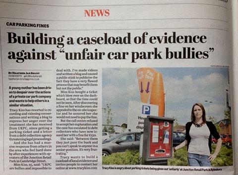 The Bucks Herald Report On My UKPC Case