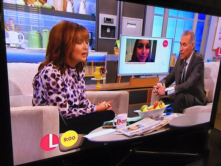 Dr Hillary Jone's Answers My Question About Cervical Cancer On Loraine Kelly For ITV