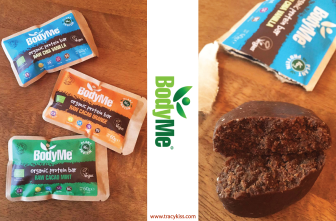 Bodyme Organic Protein Bars Tracy Kiss