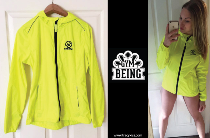 Gym Being Beyond Human Fluorescent Yellow Hoodie