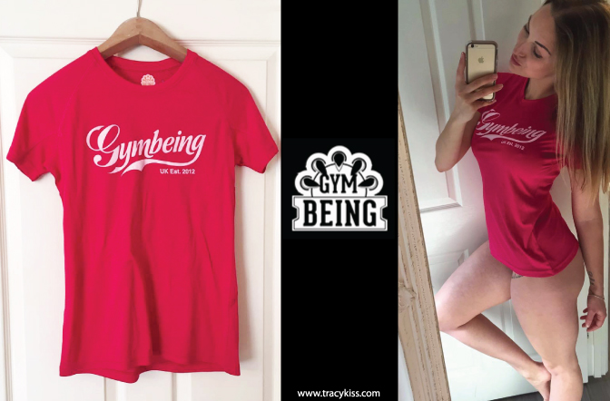Gym Being Classic Red T-Shirt