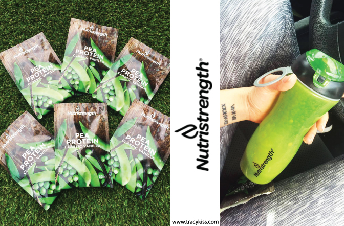 Nutristrength Pea Protein & Vanilla