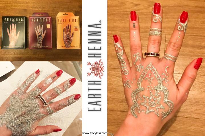 Where To Get Temporary Henna Tattoos Near Me: Earth Henna Temporary Tattoo Kits